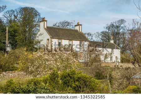 East Fortune House, East Lothian, Scotland. #1345322585