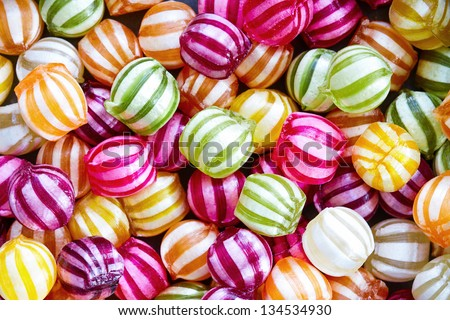 Candy background Royalty-Free Stock Photo #134534930