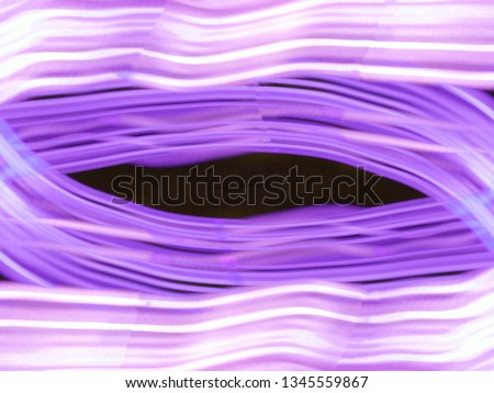 Light effects. Neon glow. Festive decoration. Abstract blurred background. Colorful pattern. #1345559867