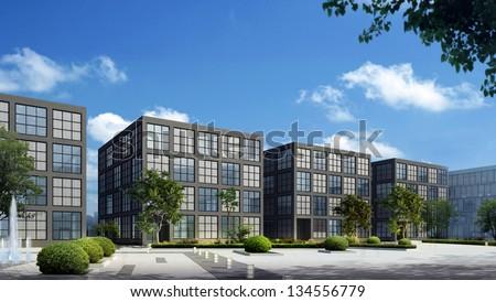 3d building #134556779