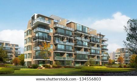 3d building #134556803