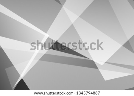 Abstract black and gray on dark background polygons silver modern design. Vector illustration EPS 10. #1345794887