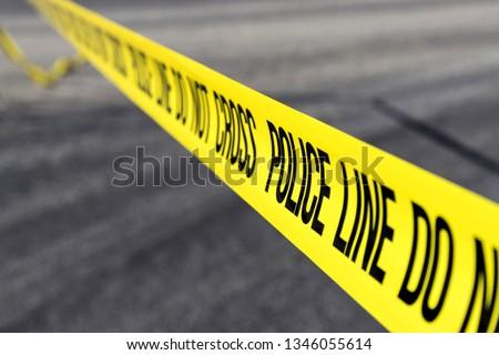 police line at crime scene #1346055614