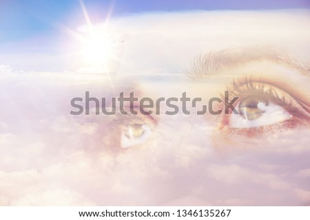 divine intervention concept          Royalty-Free Stock Photo #1346135267