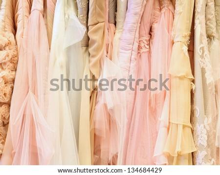 Luxury dresses background #134684429