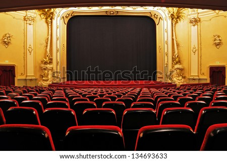 Theater - interior view #134693633