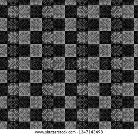 Printable Patterns For Textile And Digital. Illustration #1347143498