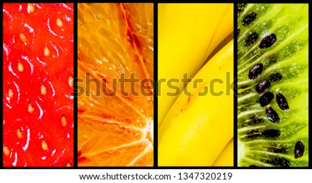Stacked fruit panel #1347320219