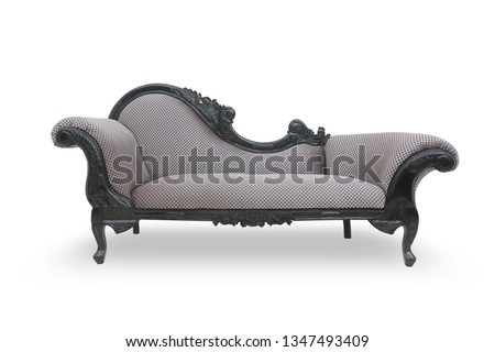 elegant sofa for family room and living room with white background