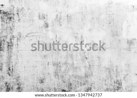 Abstract white cement wall texture and background  #1347942737
