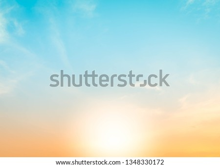 Background sunset sunrise. Sky sunset morning blur autumn
