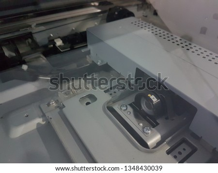 Photocopying technology equipment of photocopiers. #1348430039