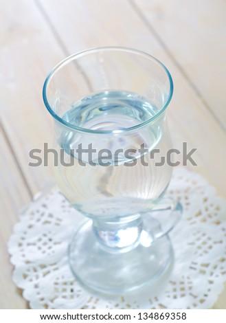 fresh water in glass #134869358