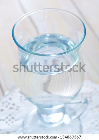fresh water in glass #134869367
