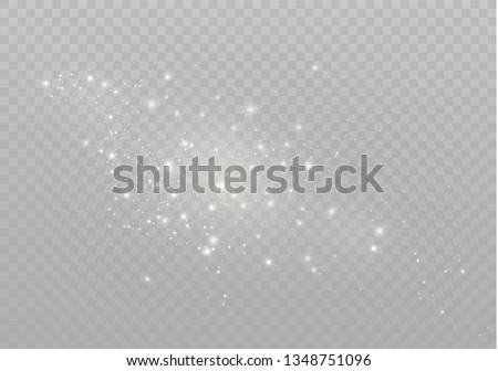 White sparks glitter special light effect.  #1348751096