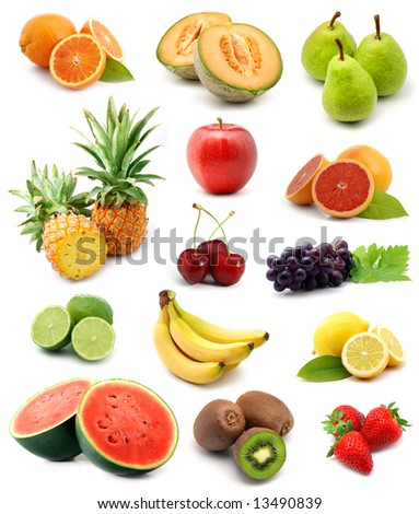 Fruits collection #13490839