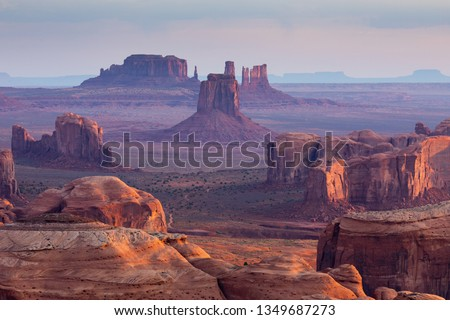 Monument Valley Sunrise #1349687273
