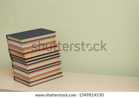 Stack of books #1349814530