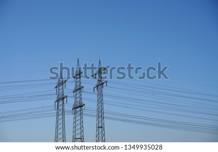 Power pole Power line #1349935028