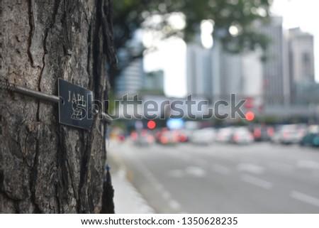 city life in blurry Kuala Lumpur   #1350628235