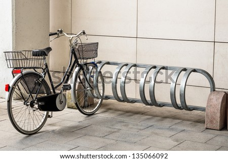Bicycle ready for Use Royalty-Free Stock Photo #135066092