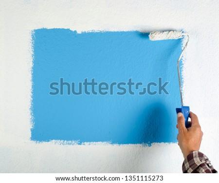 paint roller #1351115273