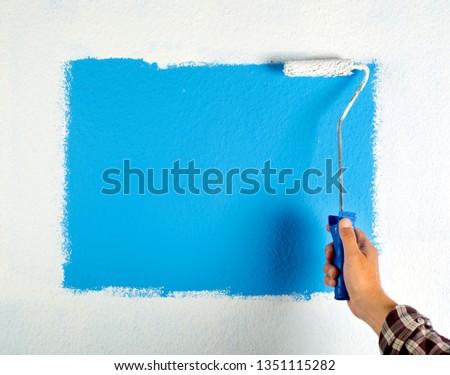 paint roller #1351115282