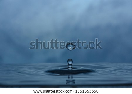 drops of clean water #1351563650