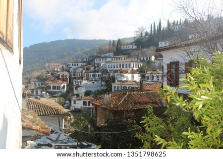 Şirince is a village of 600 inhabitants in İzmir Province, Turkey, located about 8 kilometres (5.0 mi) east of the town Selçuk.
