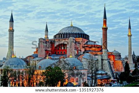 Hagia Sophia (Turkish: Ayasofya), Istanbul, Turkey. #1351927376