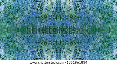 Colorful seamless nature pattern for design, background, textile, ceramic tiles, and wallpapers #1351961834