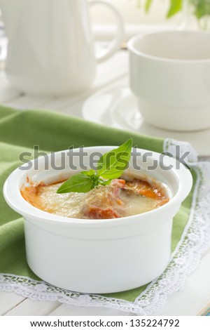 "Eggplant ""parmigiano"" #135224792"