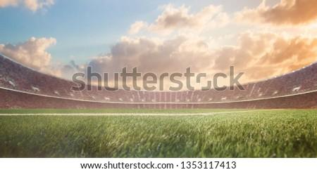 stadium before the match. #1353117413