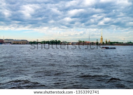 ST.PETERSBURG - 12 JUNE 2015: Peter and Paul Fortress in St. Petersburg #1353392741