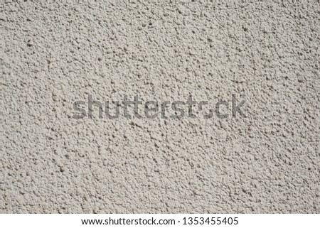 Plastered grey wall for design, banner and layout. #1353455405