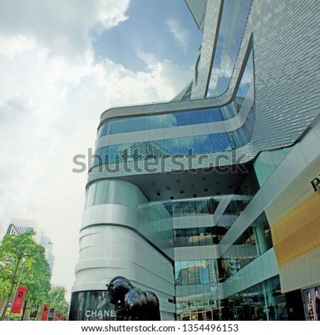 Luxury Shopping Mall, Bangkok, Thailand 3 June 2014 #1354496153