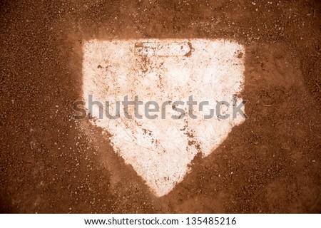 baseball field /red dirt Royalty-Free Stock Photo #135485216
