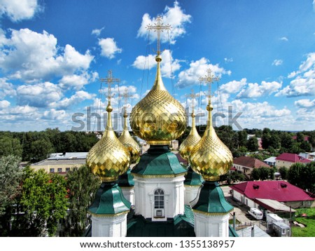 Orthodox church in Russia. Church heaven #1355138957