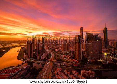 Shenzhen City Scenery #1355486651