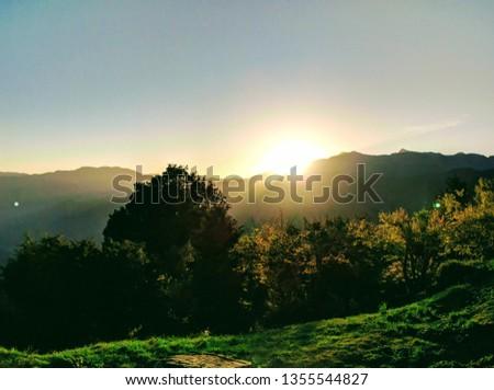 Sunrise at AliShan #1355544827