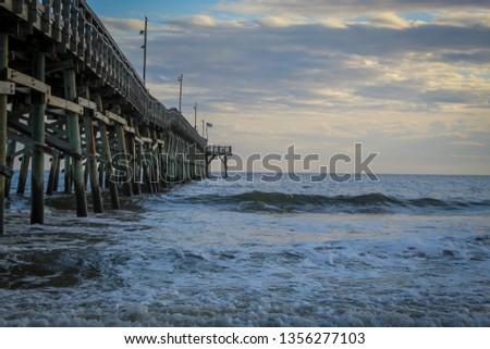 North Carolina Beach Pier #1356277103