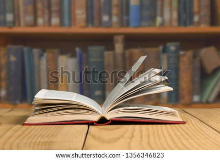 Holy bible with eye glasses and note #1356346823