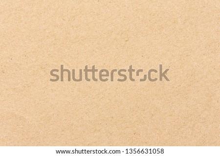 Brown cardboard sheet of paper background #1356631058