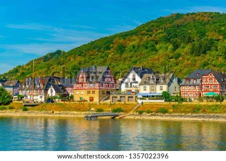 Oberspay town in Germany #1357022396