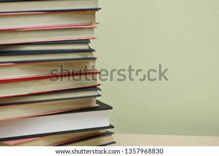 Stack of books #1357968830