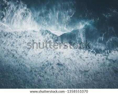 Storm Sea Wave #1358551070