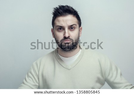 portrait of a young man #1358805845