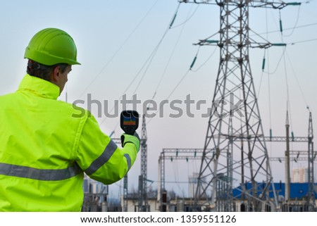 thermal imaging inspection of electrical energy equipment #1359551126