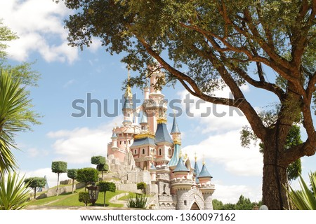 Disneyland Paris castle #1360097162