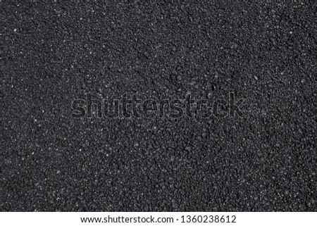 Smooth asphalt road. The texture of the tarmac, top view. #1360238612